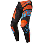 2017 Fox MX Youth 180 Pants - Falcon Black/Orange Kids Motocross Offroad Peewee