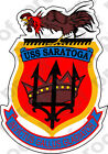 Red And Grey Home Decor STICKER USN US NAVY CV 60 USS SARATOGA CARRIER Indian Home Decoration Items