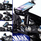 Motorcycle Fork Stem Extended Mount + Holder for Samsung Galaxy S6 S7 Edge Plus