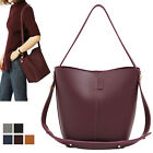 WOMEN'S HANDBAG EVERYDAY SIMPLE TWO-WAY SMALL TOTE SHOULDER BAG FAUX LEATHER