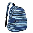 Miss Lulu Large Canvas Daypack Backpack Briefcase School Office Travel Everyday