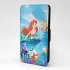 Little Mermaid Ariel Flounder Flip Case Cover For Apple iPhone - T1131