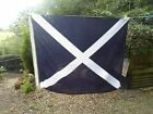 "Good Signal Flag Size 5 Flag M With Brass Toggles 49"" x 39.5"" WITH CROW's FOOT"