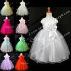 #SB7 Baby Girl Christening Communion Pageant Birthday Formal Party Gowns Dresses