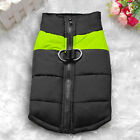 Waterproof  Small / Large Pet Dog Clothes Winter Warm Padded Coat Pet Vest Jacket