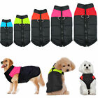 Waterproof Small/ Large Pet Dog Cat Puppy Clothes Warm Padded Coat Vest Jacket