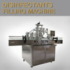 110V Automatic Four Head Disinfectants Filling Machine for 75 Alcohol By Sea