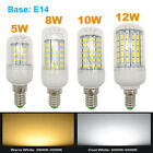 2x E14 base LED Corn Light Bulb 110V 220V bright corn lamp 5W/8W/10W/12W  cover