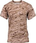 Desert Digital Camouflage Performance Moisture Wicking Shirt