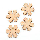 Wooden MDF Christmas Snowflakes Snowflake Craft Blank Christmas Tree Decoration