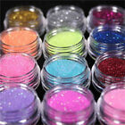 45 Colours Glitter Dust Powder Pots Set Nail Art Tips Decoration / Crafts / DIY