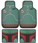 New Star Wars Boba Fett Car Truck All Weather Rubber Floor Mats by PlastiColor $56.98 USD