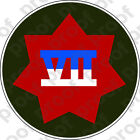 STICKER US ARMY UNIT 7th Corps