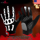 Off-road Racing Motorcycle Cycling Bike Bicycle Skeleton Full Finger Glove