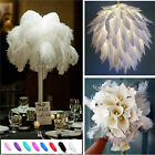 1~10pcs Wholesale High Quality Natural  Ostrich Feathers Wedding Party 15-30cm
