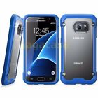 Blue/Frost Samsung Galaxy S7/ S7 Edge Hybrid Rubber Shockproof Case Cover