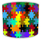 Lampshades Ideal To Match Jigsaw Puzzle Duvets Covets & Jigsaw Puzzle Wall Decal