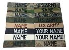 Military Custom Name Tape, ACU Multicam OCP Black ABU OD Green Desert Tan