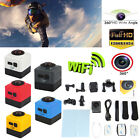 360° Panoramic WiFi Wireless HD Cube Sport DV Action Video Mini Camera Camcorder