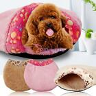 Soft Cat Dog Cave Pet Bed Warm House Puppy Mat Pad Igloo Nest Kennel Cushion