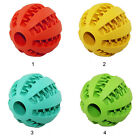 Pet Rubber Dental Treat Oral Teeth Cleaning Ball Chew Toy For Dog Health Care SE