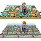 Waterproof Double Sided Baby Playmat Large Reversible Baby Toddler Mat New