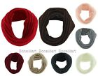 BONAMART Unisex Winter 1 Circle Knit Wool Blend Cowl Loop Scarf Shawl