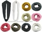BONAMART Fashion Soft Long Infinity 2 Circles Scarf Shawl Wrap Women