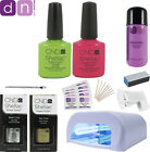 Professional CND 2 Colour Shellac Starter Kit - Choice of Top Colours, 36W lamp