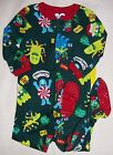 TCP BABY BOY GIRL 1PC CHRISTMAS MONSTERS FOOTED STRETCHIE SLEEPER PAJAMAS 9-12M