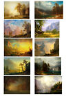 Canvas Wall art Classical Albert Bierstadt landscape Oil Painting repro Handmade