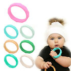 Baby Newborn Teether Teething Silicone Necklace Jewelry Bangle Bracelets