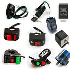 Motorcycle ATV Horn Turn Ignition Signal Electrical Start Switch Flasher Relay