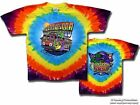 "Grateful Dead ""San Francisco Coast To Coast"" 2 Sided Tie-Dye T-Shirt - FREE SHIP"