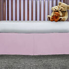 Clearance Baby bed Nursery Crib Tailored Dust Ruffle Bed Skirt Free Shipping New