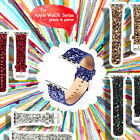 Glitter Leather Bracelet Strap Watch Band For Apple iWatch Series 38mm/42mm New