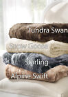 Brielle Faux Fur Throws and Blankets , Heavy and Oversized NEW