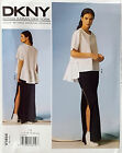 VOGUE PATTERN TOP LOOSE FIT & SKIRT CLOSE FIT BELOW WAIST 6-14 or 14-22 # V1454