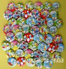 The Smurfs Movie 45MM LOTS PIN BACK BADGES BUTTONS NEW FOR BAG CLOTH PARTY