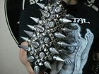 GIANT SPIKE AND STUDS GAUNTLET. DEATH METAL (MDLG0247)..... THY LIGHT