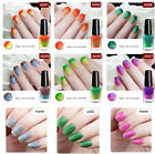 1 Bottle Thermal Nail Polish Peel Off Color Changing Glitter Nail Varnish 6ml