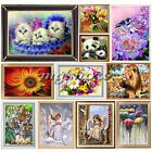 DIY 5D Embroidery Diamond Sticker Cross Stitch Painting Home Decor Animal Flower
