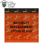 Broseley Replacement Stove Glass - Heat Resistant Glass For Broseley Stoves