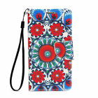 Magnetic Flip Card Wallet Leather Case Cover For Samsung Galaxy S6 Edge Mandala