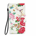 Magnetic Flip Card Wallet Leather Case Cover For Samsung Galaxy S6 Edge Peony