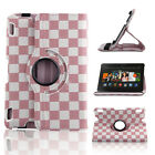"""360 Rotating PU Leather Smart Case Cover For Amazon Kindle Fire HD 7"""" / HDX 8.9"""""""