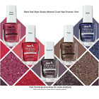 Avon Mark Nail Style Studio Mineral Crush Nail Enamel 10ml ~ Various ~ Free P