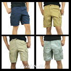 New Hollister by Abercrombie A&F Men Classic Cargo Shorts Vintage size 32 33 34