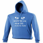 Despite The Look On My Face HOODIE Sarcastic Hoody Joke Top Funny Gift birthday