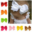 New 20 pcs/lot 8 Inch Large Cheer Bow w/ Elastic Hair Band Cheerleading Boutique